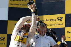 Podium: Timo Glock, BMW Team RMG, BMW M4 DTM und Stefan Reinhold, BMW Team RMG