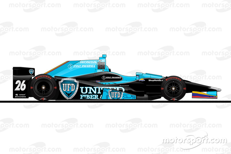 Startposition 5: Carlos Munoz (Andretti-Honda)