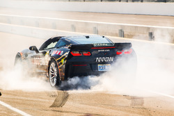 Sam Schmidt piloting the ARROW Chevrolet Corvette