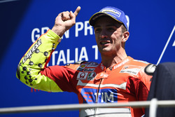 Third place Andrea Iannone, Ducati Team