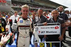 Race winner Matteo Cairoli