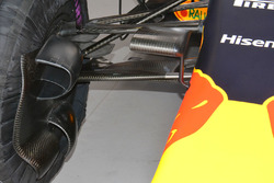 Red Bull Racing RB12, Bremsschacht, Detail