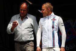 Gerhard Berger, mit Valtteri Bottas, Williams