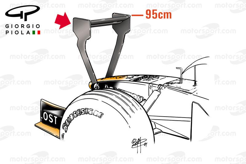 Arrows A22 voorkant, Monaco GP