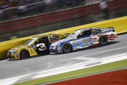 Austin Dillon, Richard Childress Racing Chevrolet, Dale Earnhardt Jr., Hendrick Motorsports Chevrolet