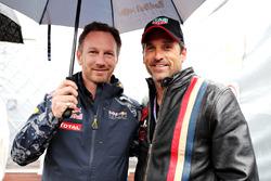Керівник Red Bull Racing Крістіан Хорнер і Патрік Демпсі