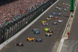 Start: James Hinchcliffe, Schmidt Peterson Motorsports, Honda, führt