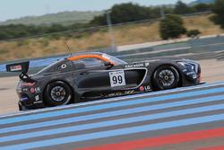 #99 Sports and You Mercedes AMG GT3: Antonio Coimbra, Luis Silva