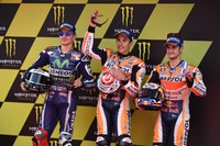 Jorge Lorenzo, Yamaha Factory Racing, Marc Marquez, Repsol Honda Team, Dani Pedrosa, Repsol Honda Team