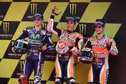 Хорхе Лоренсо, Yamaha Factory Racing, Марк Маркес, Repsol Honda Team, Дані Педроса, Repsol Honda Team
