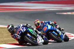 Хорхе Лоренсо, Yamaha Factory Racing, Маверік Віньялес, Team Suzuki Ecstar MotoGP