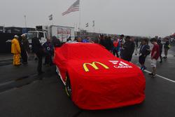 Das Auto von Jamie McMurray, Chip Ganassi Racing, Chevrolet, im Regen