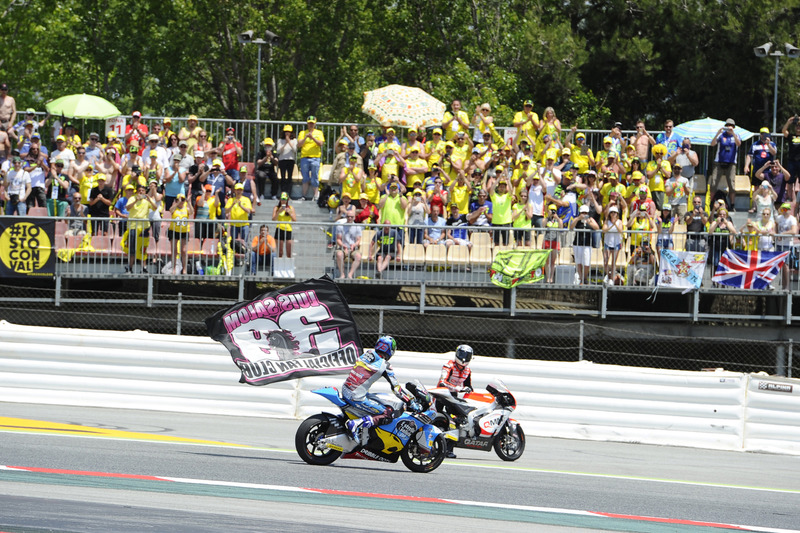 Xavier Simeon, QMMF Racing Team, Alex Marquez, Marc VDS, Luis Salom remembrance