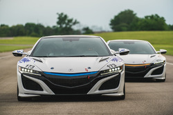 Acura NSX Time Attack 1 and 2 Vehicles