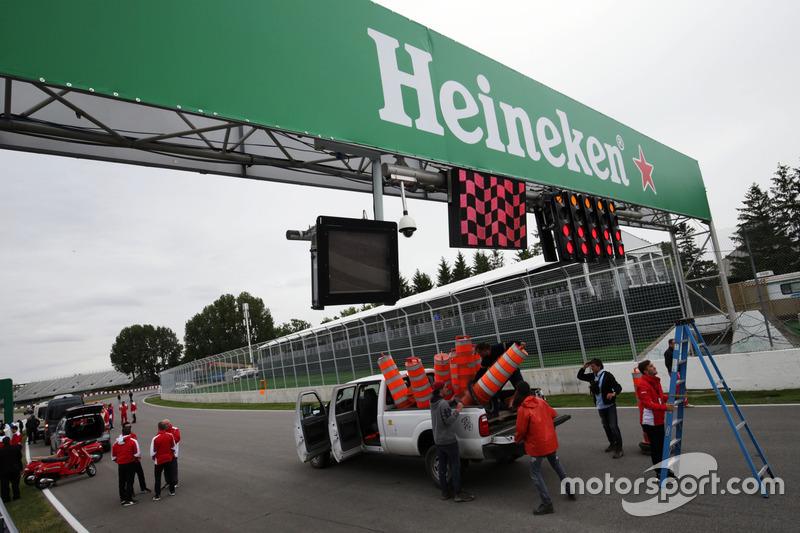 Брендинг Heineken на трассе