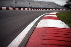 Randsteine am Circuit Gilles Villeneuve in Montreal