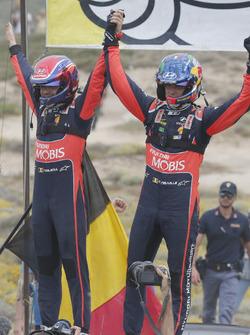 Sieger Thierry Neuville, Nicolas Gilsoul, Hyundai i20 WRC, Hyundai Motorsport