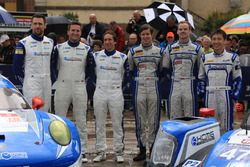 Кристиан Рид, Вольф Хенцлер и Жоэль Каматьяс, #78 KCMG Porsche 911 RSR и Цугио Мацуда, Мэтт Хоусон, Ричард Брэдли, #47 KCMG Oreca 05 - Nissan