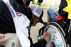 #5 Toyota Racing Toyota TS050 Hybrid: Sébastien Buemi