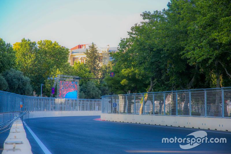 Circuito de ciudad de Bakú  curva 19