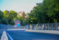 Baku, la curva 19 del circuito cittadino