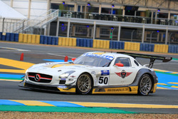 Кристиан Филиппон, Франк Лябеска, #50 Team Larbre Competition Mercedes-Benz SLS AMG GT3
