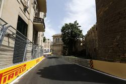 Трасса в Баку