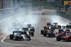 Felipe Massa, Williams FW38, beim Rennstart