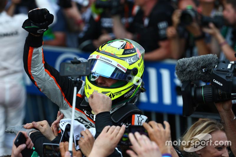 3. Sergio Perez, Force India F1 VJM09