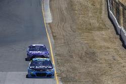Michael McDowell, Circle Sport Leavine Family Racing Chevrolet, Denny Hamlin, Joe Gibbs Racing Toyota