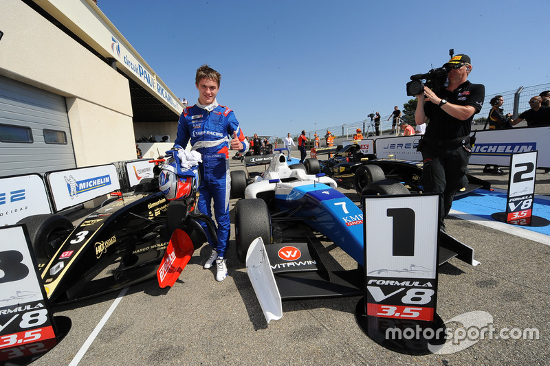 Ganador Egor Orudzhev, Arden Motorsport