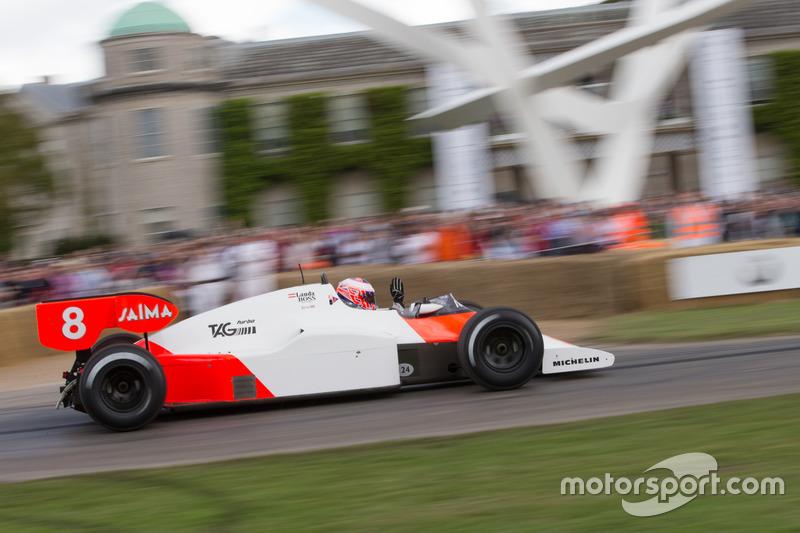 McLaren-Tag/Porsche MP4/2 - Jenson Button