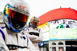 Sam Bird, DS Virgin Racing visita il Marble Arch