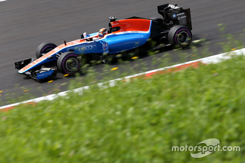 12. Pascal Wehrlein, Manor Racing