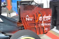 McLaren rear wing