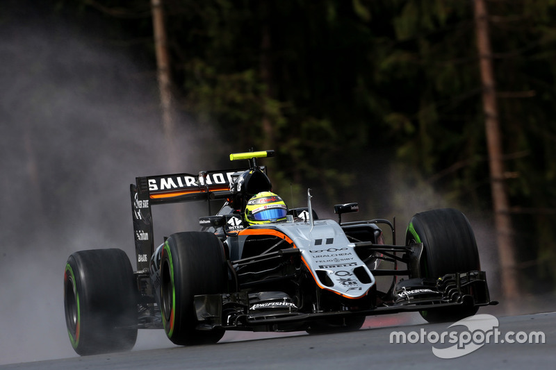 16. Sergio Perez, Sahara Force India
