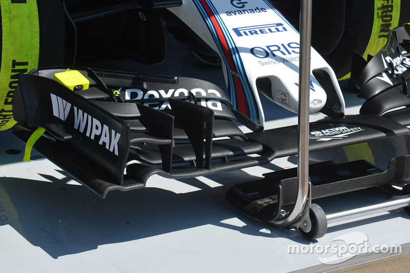 Valtteri Bottas, Williams F1 Team, ala anteriore