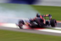 Unfall von Daniil Kvyat, Scuderia Toro Rosso