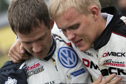 Sébastien Ogier,  Volkswagen Polo WRC, Volkswagen Motorsport and Ott Tanak, DMACK World Rally Team