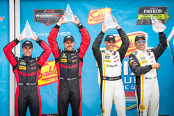 Pemenang balapan: Joao Barbosa, Christian Fittipaldi, Action Express Racing, posisi kedua Eric Curran, Dane Cameron, Action Express Racing