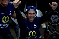 Nicolas Prost, Renault e.Dams feiert seinen Sieg