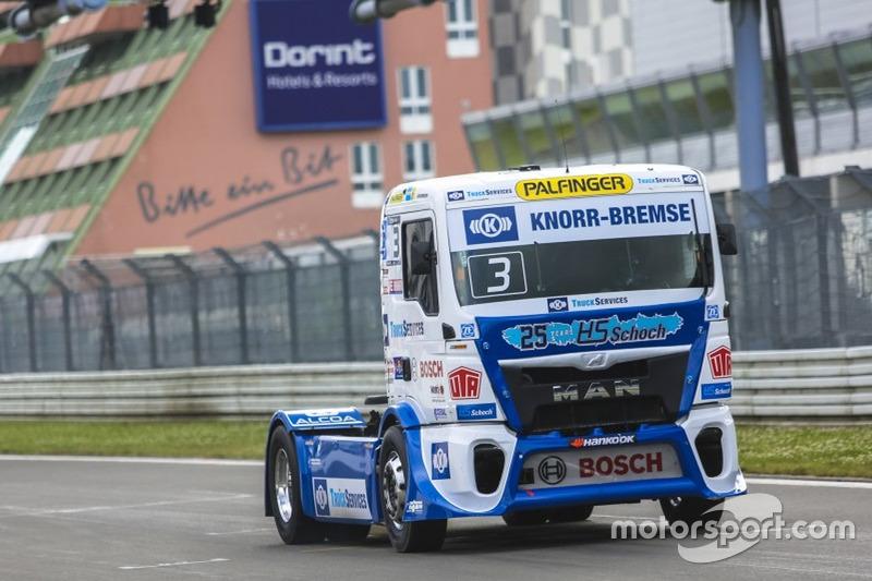 Truck-EM: Team Hahn Racing, MAN TGS