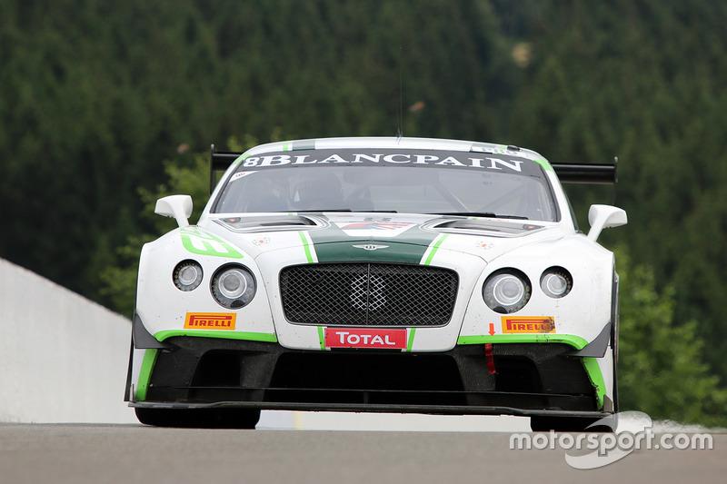 4. #8 Bentley Team M-Sport, Bentley Continental GT3