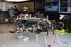 La Mercedes AMG F1 W07 Hybrid