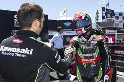 Second place superpole Jonathan Rea, Kawasaki Racing