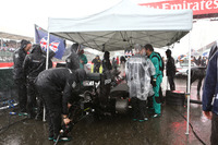 Mercedes on the grid