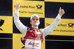 Podium : le vainqueur Jamie Green, Audi Sport Team Rosberg, Audi RS 5 DTM