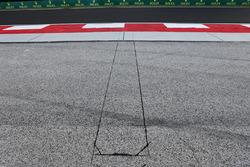 Sensores electrónicos en el funcionamiento del área en la curva 4