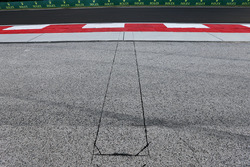 Tracklimit-Sensoren in Kurve 4 auf dem Hungaroring