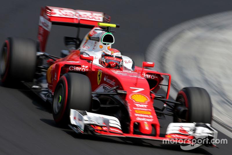 14. Kimi Räikkönen, Scuderia Ferrari SF16-H